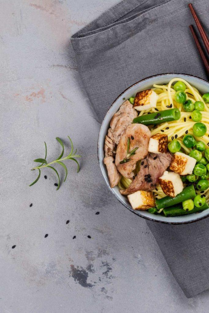 Asian Beef Noodle Gluten-Free