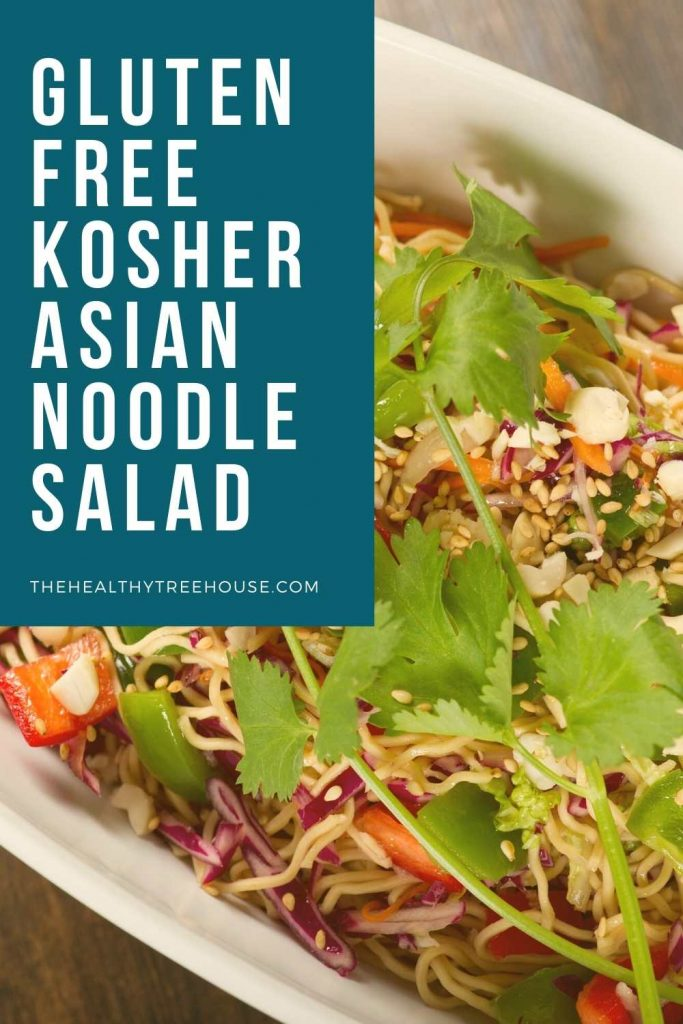 Glutenfree Kosher Asian noodle salad