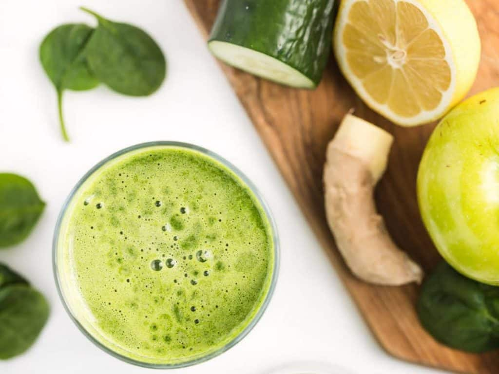 juice cleanse green ginger extravaganza