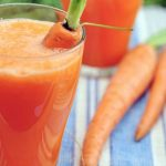 Carrot And Strawberry Smoothie