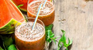 Mint And Watermelon Smoothie