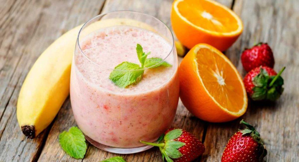 Orange Protein Smoothie