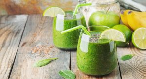 Spinach Flax Protein Shake