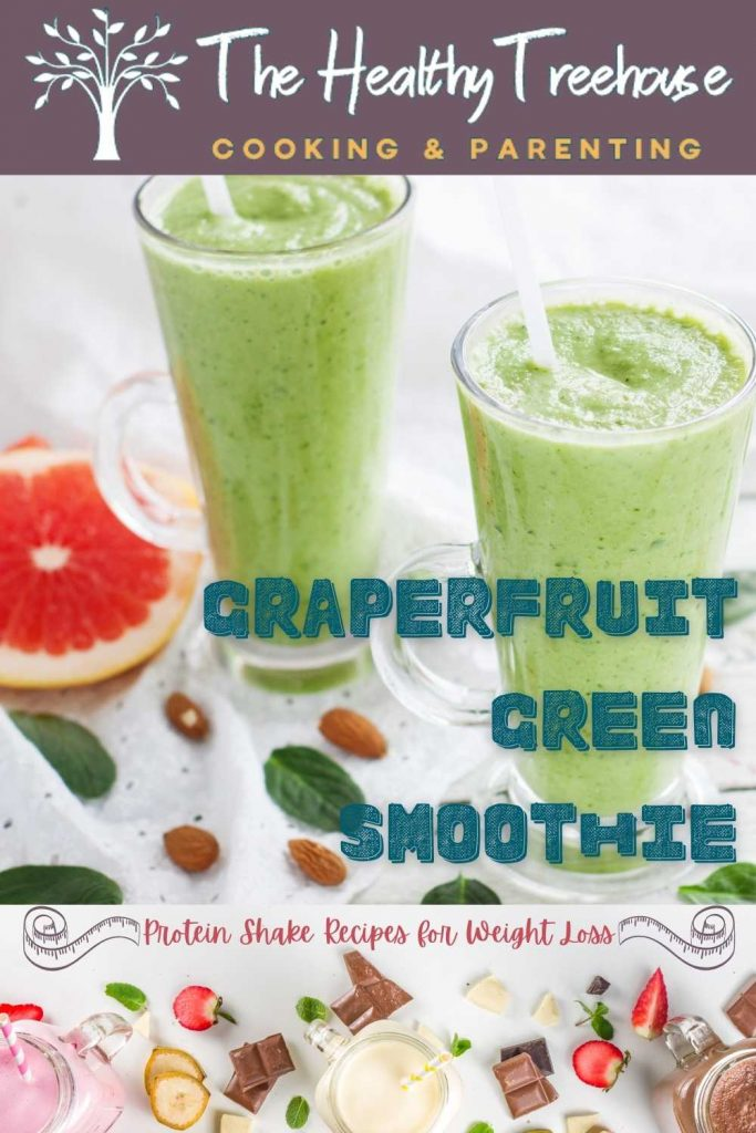 grapefruit green smoothie recipe