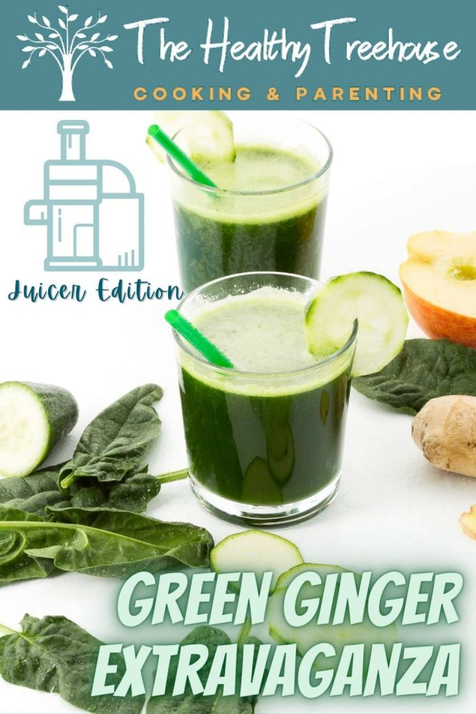 green ginger extravaganza recipe