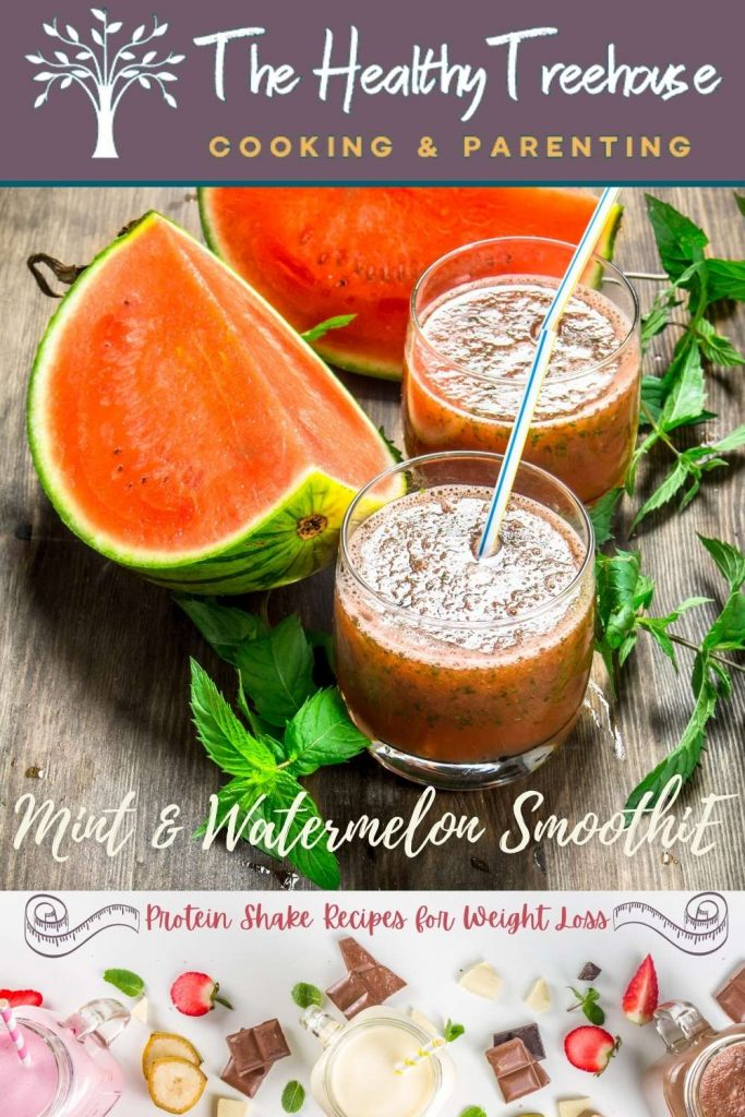 mint and watermelon smoothie recipe