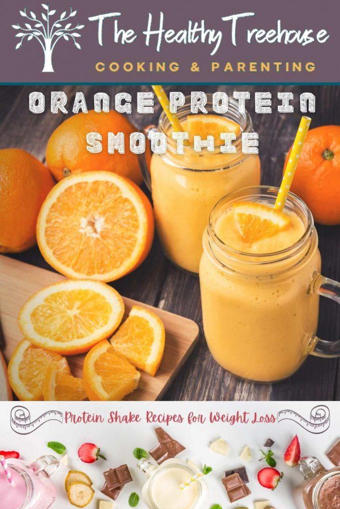Orange Protein Smoothie Recipe