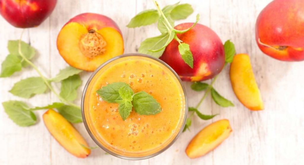 peach and summer squash recipe
