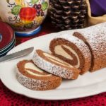 Low-Calorie Ginger Pumpkin Roll