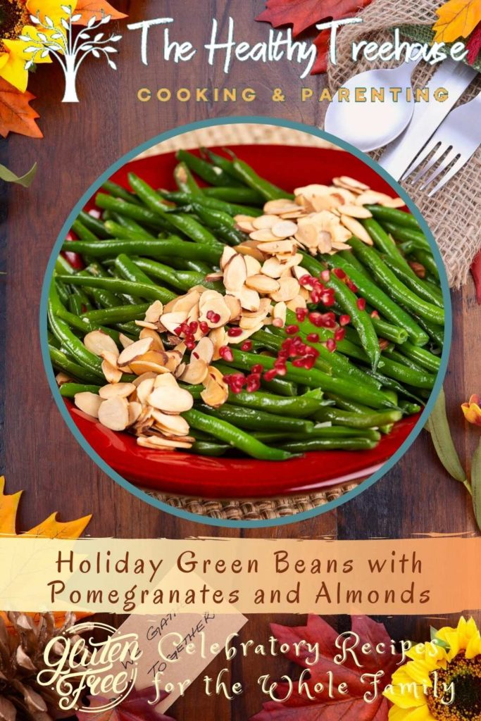 Holiday Green Beans with Pomegranates and Almonds Recipe