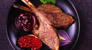 Lamb Chops in Pomegranate Sauce