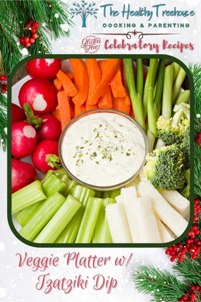 Veggie Platter with Tzatziki Dip