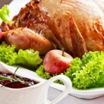 Perfect Herb-Roasted Turkey with NSA Cranberry Sauce