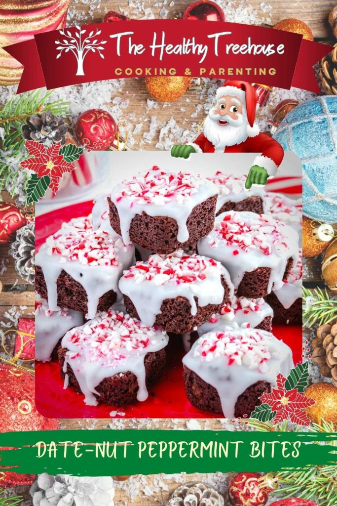 Date-Nut Peppermint Bites