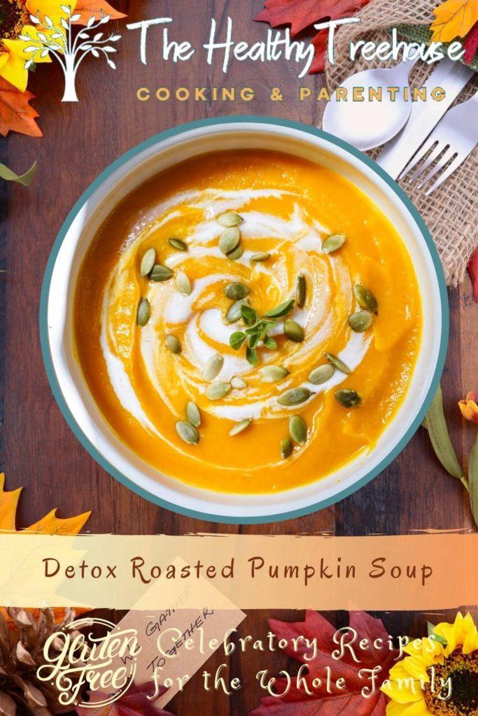 Detox Roasted Pumpkin Soup Recipe