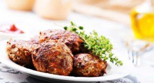 Baked Turkey Pesto Meatballs Recipe