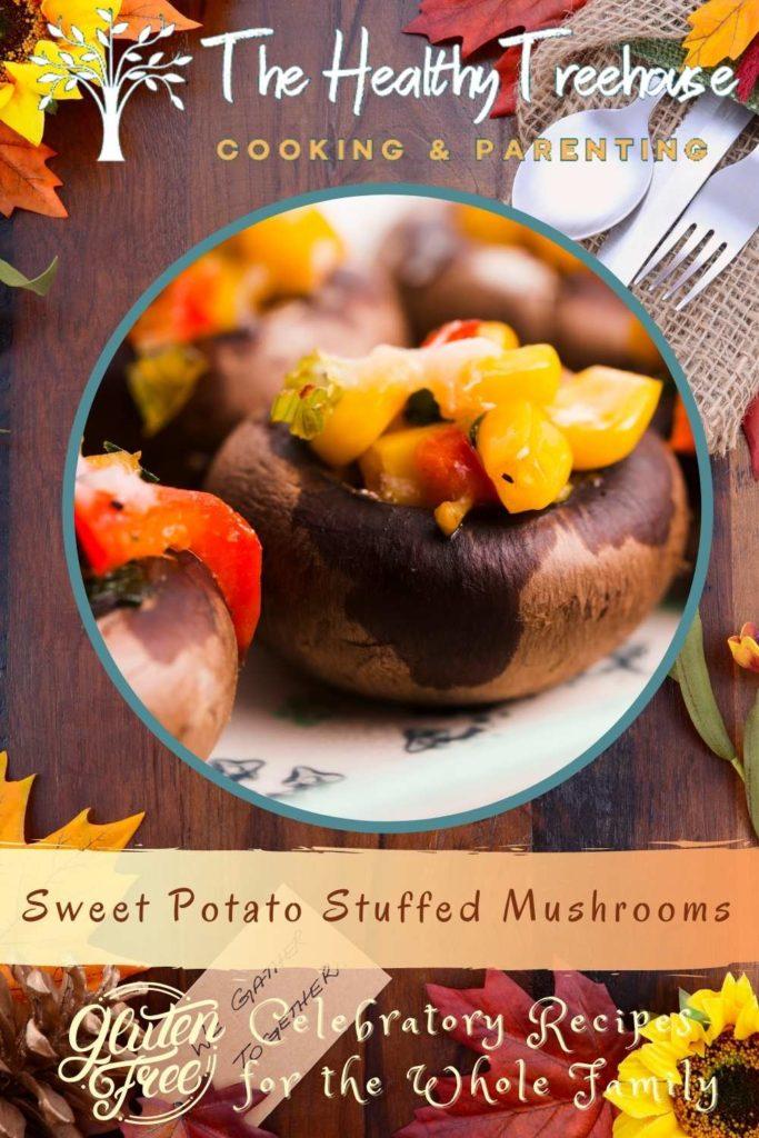 Sweet Potato Stuffed Mushrooms
