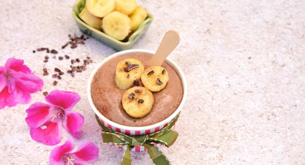 Gluten-Free Banana Chocolate Ice Cream Recipe