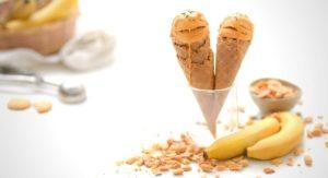 Banana and Peanut Butter Ice Cream Recipe