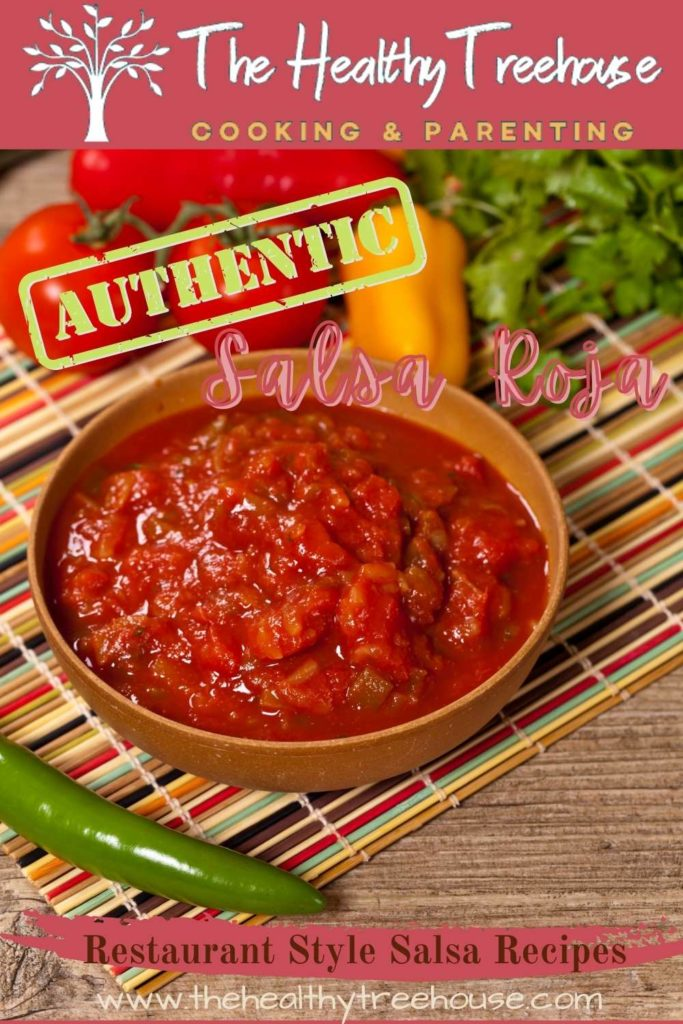 Authentic Salsa Roja Recipe