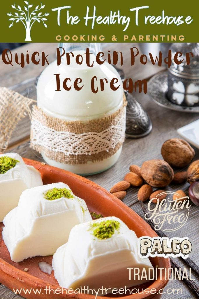 Quick Protein Powder Ice Cream Recipe