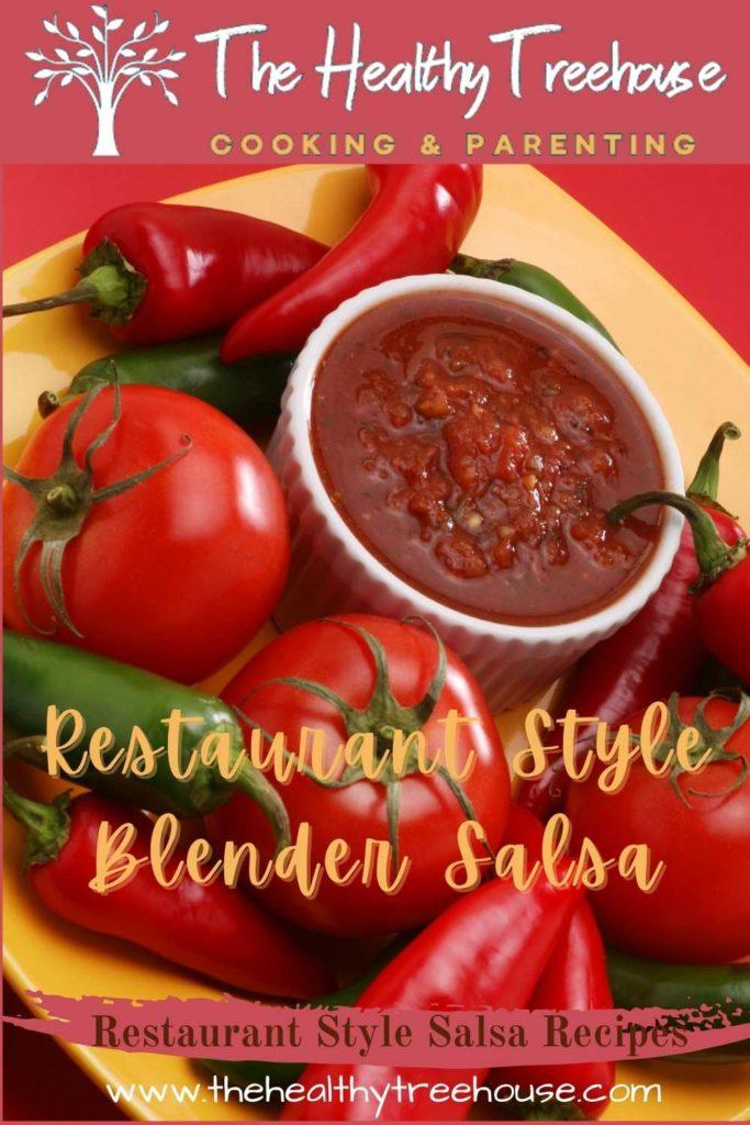 Restaurant Style Blender Salsa Recipe
