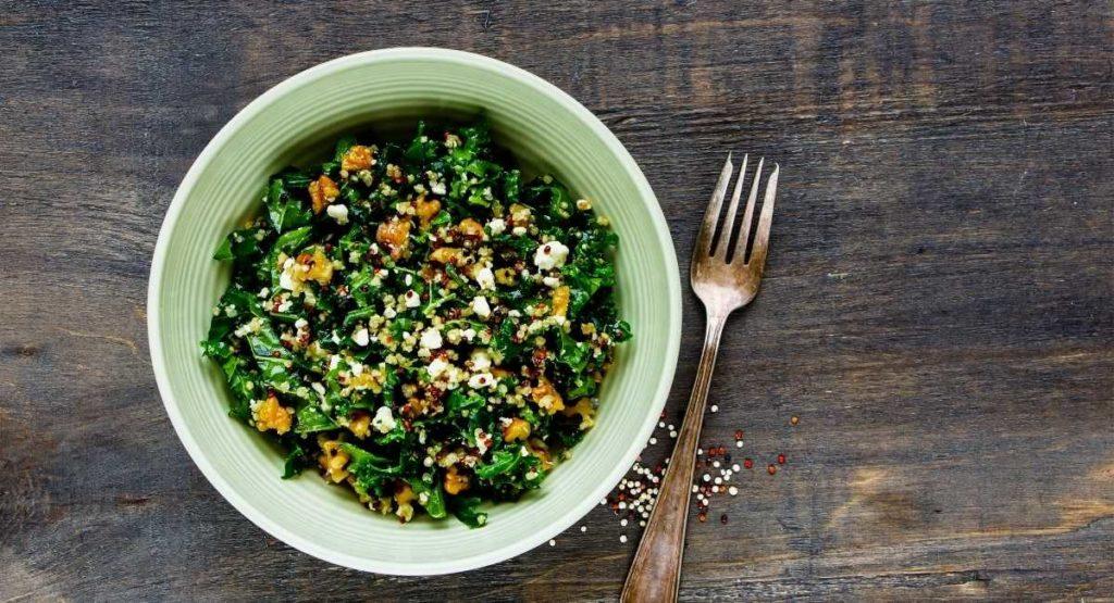 Kale and Quinoa Bowl