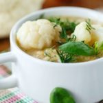 Low-Carb Cauliflower Blender Soup Recipe