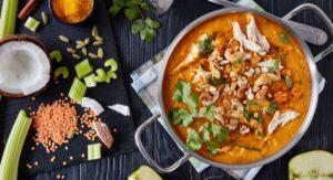 Mulligatawny Blender Soup with Jasmine Rice Recipe