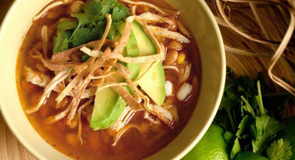 15 Minute Tortilla Soup