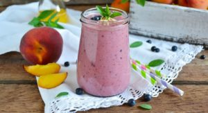 Peach-Blueberry Smoothie Recipe