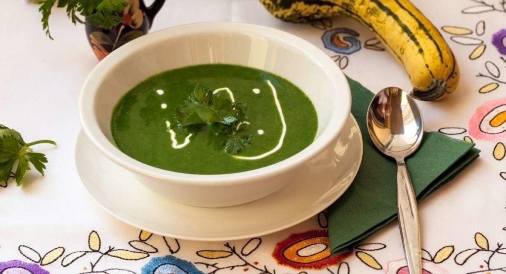 Detox Green Machine Soup Recipe