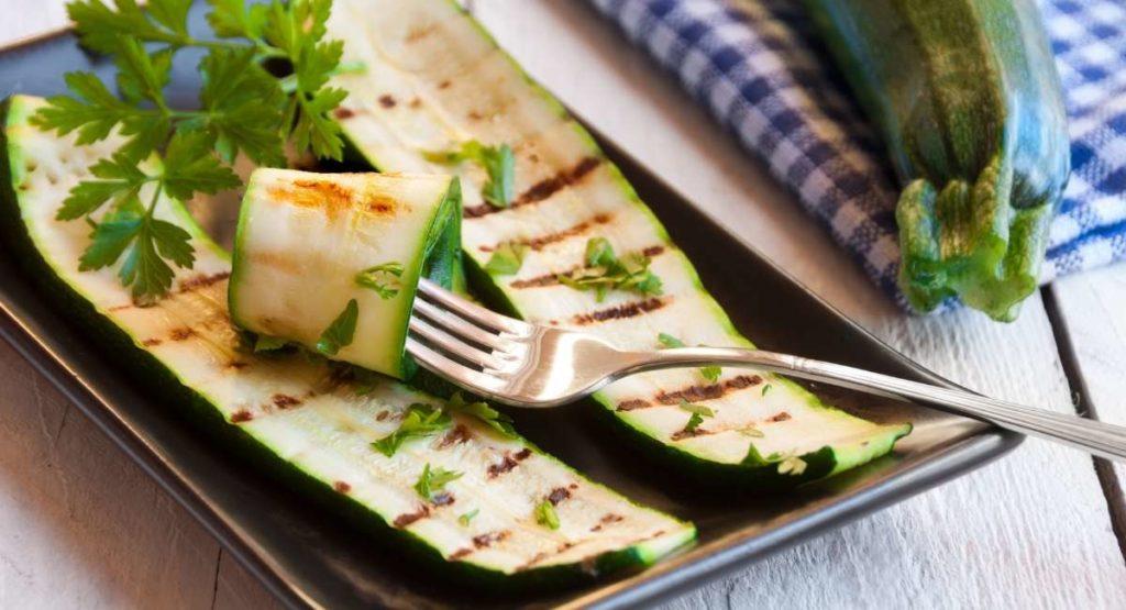 Lemon Parsley Grilled Zucchini Recipe