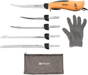 American Angler PRO Electric Fillet Knife Set