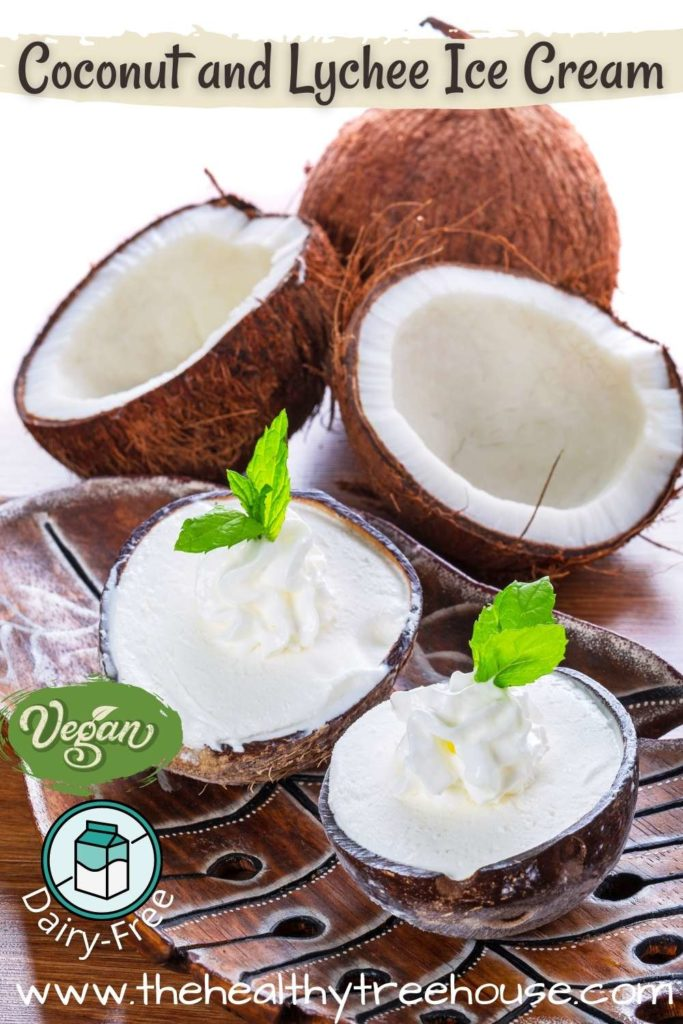 Coconut and Lychee Ice Cream Recipe