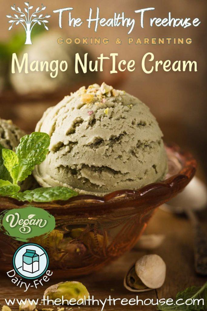 Mango Nut Ice Cream Recipe