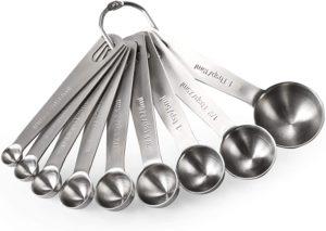 U-Taste 18/8 Stainless Steel Measuring Spoons Set