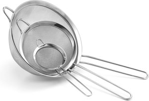 Cuisinart CTG-00-3MS Fine Mesh Stainless Steel Strainers